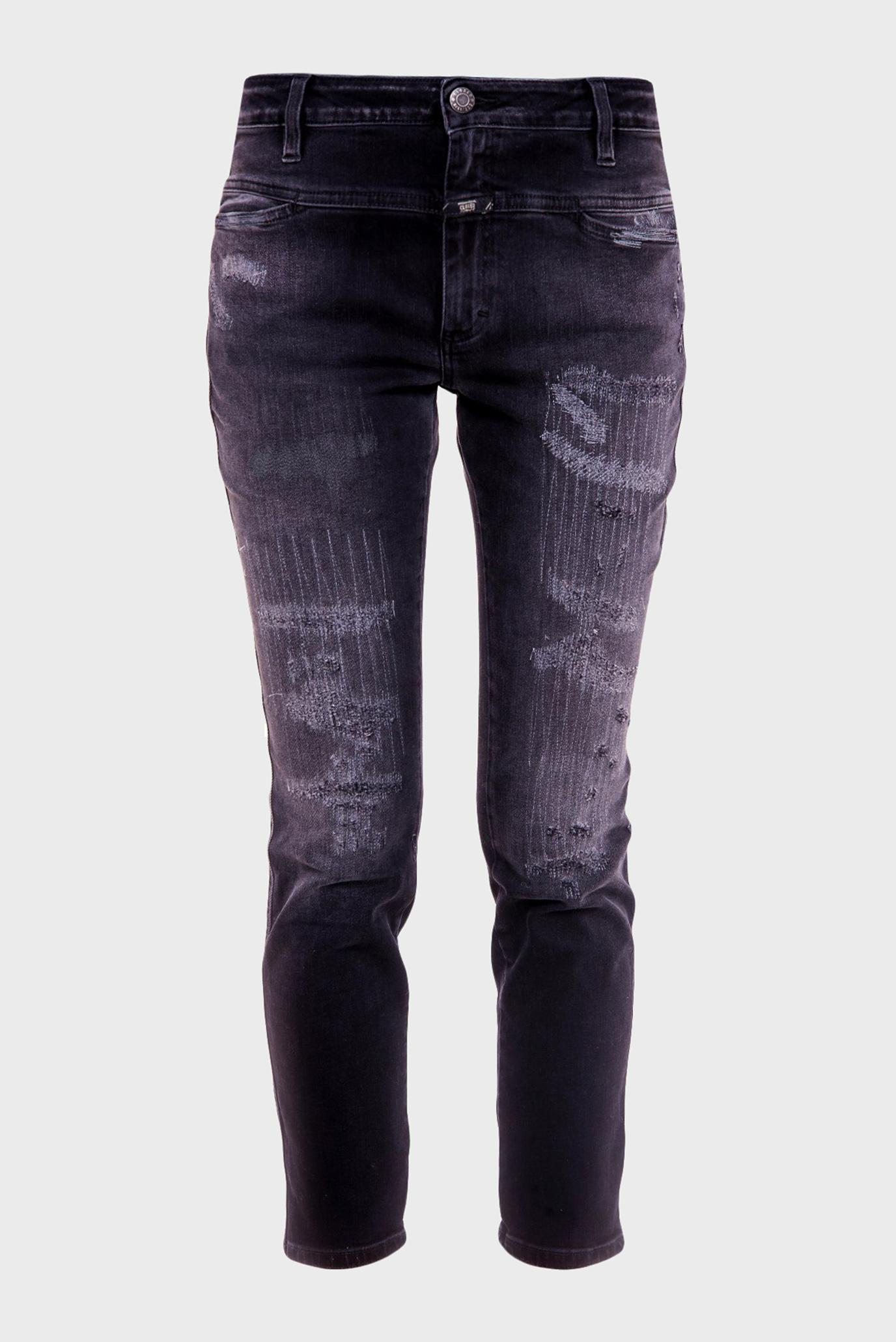 Купить Женские серые джинсы CROPPED WORKER Closed Closed C91085-021-NP-0NP – Киев, Украина. Цены в интернет магазине MD Fashion