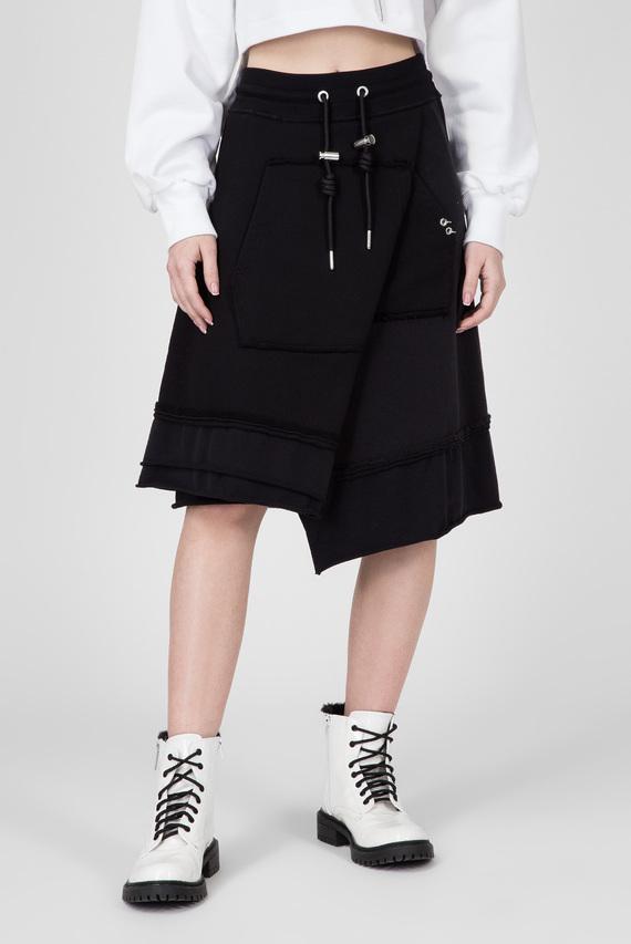 Женская черная юбка О-RETI