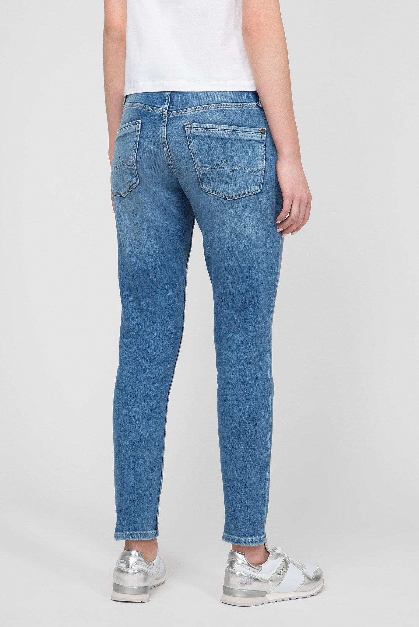 Женские синие джинсы JOEY Pepe Jeans