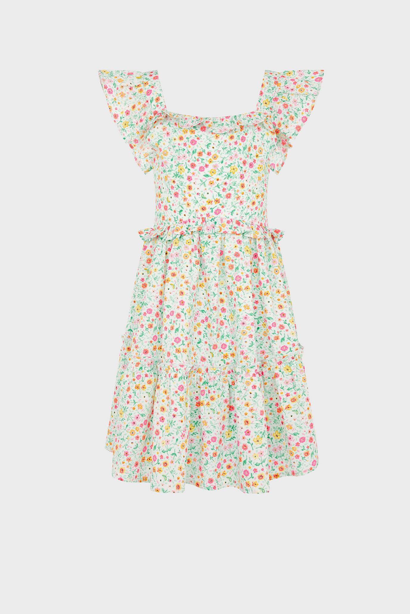 Детское платье с принтом DITSY FRILL DRESS 1