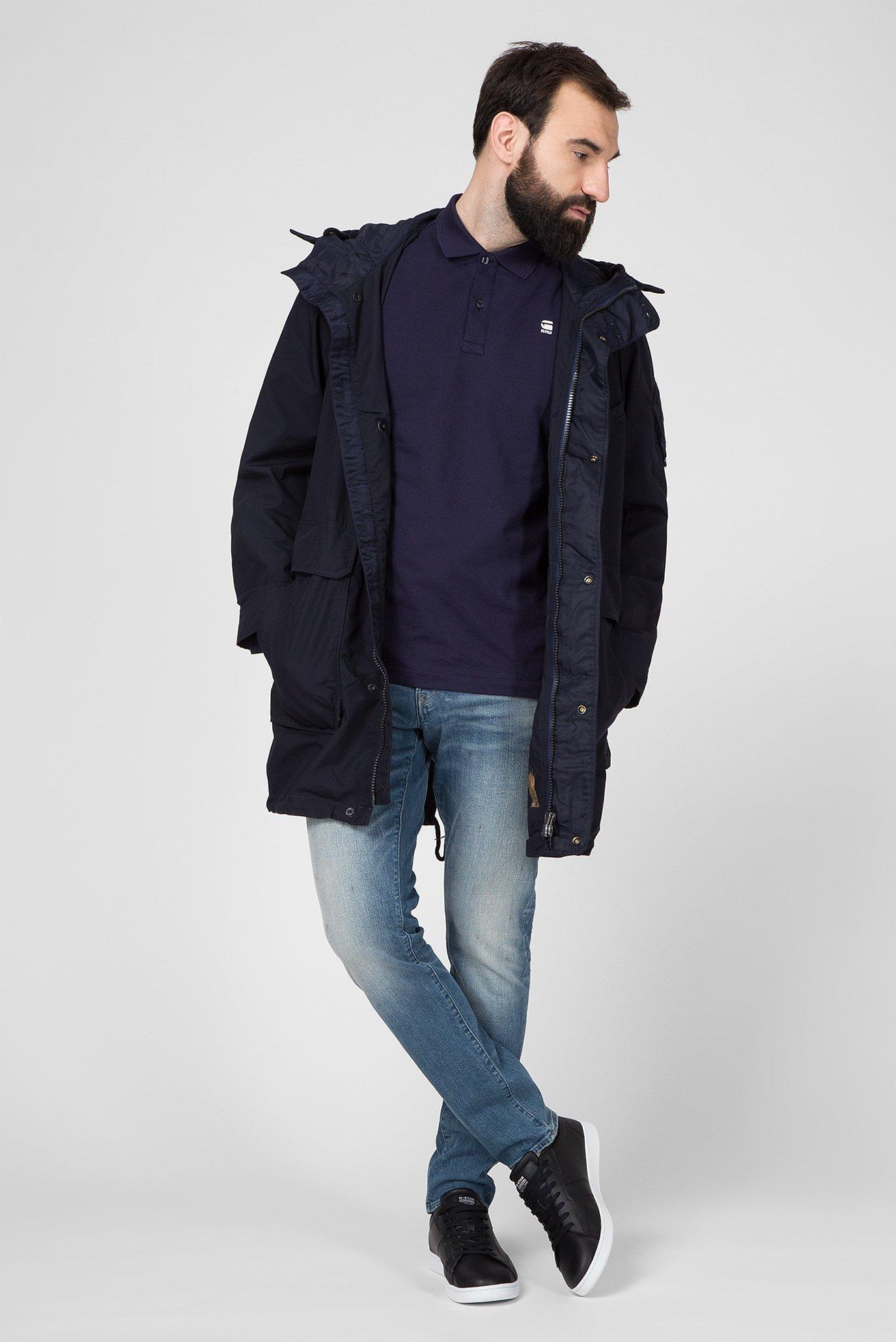 Мужская темно-синяя куртка Multipocket G-Star RAW