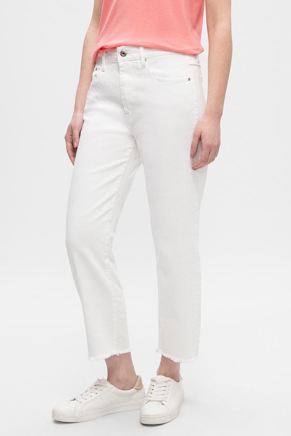 Женские белые джинсы 3301 Mid Boyfriend rp 7/8