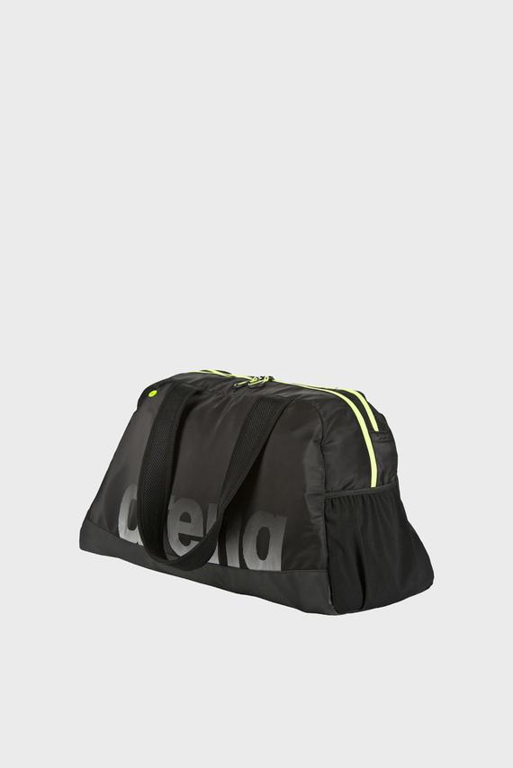 Женская черная спортивная сумка FAST WOMAN
