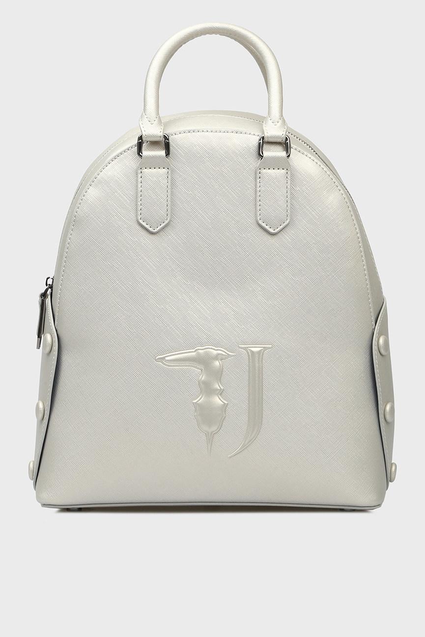 Женский серебристый рюкзак MELISSA