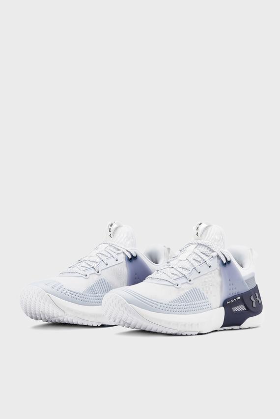 Женские белые кроссовки UA W HOVR Apex
