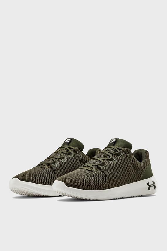 Мужские зеленые кроссовки UA Ripple 2.0