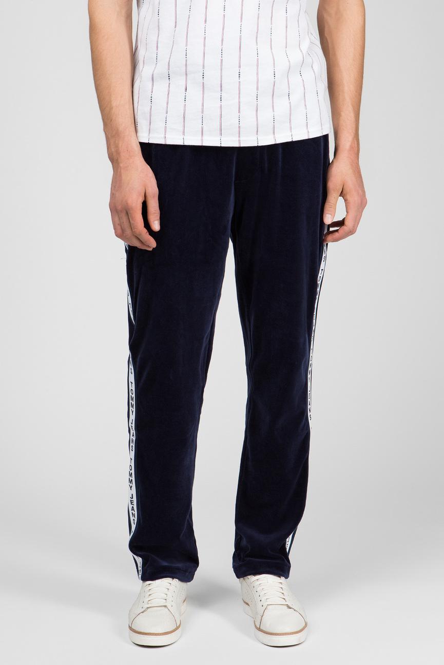 Мужские синие спортивные брюки VELOUR