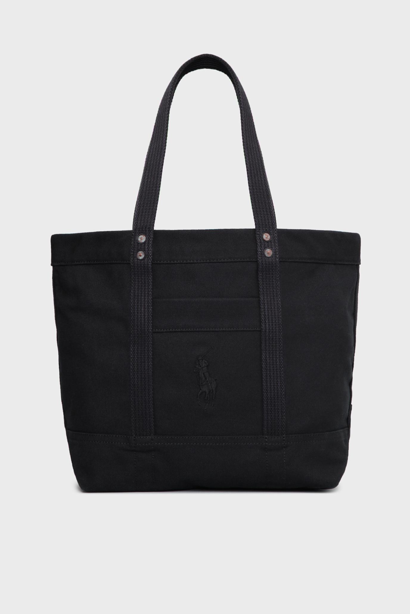 35b9aa2d8cc0 Купить Женская черная сумка на плечо Polo Ralph Lauren Polo Ralph Lauren  V92IH025BH117 – Киев, Украина. Цены ...