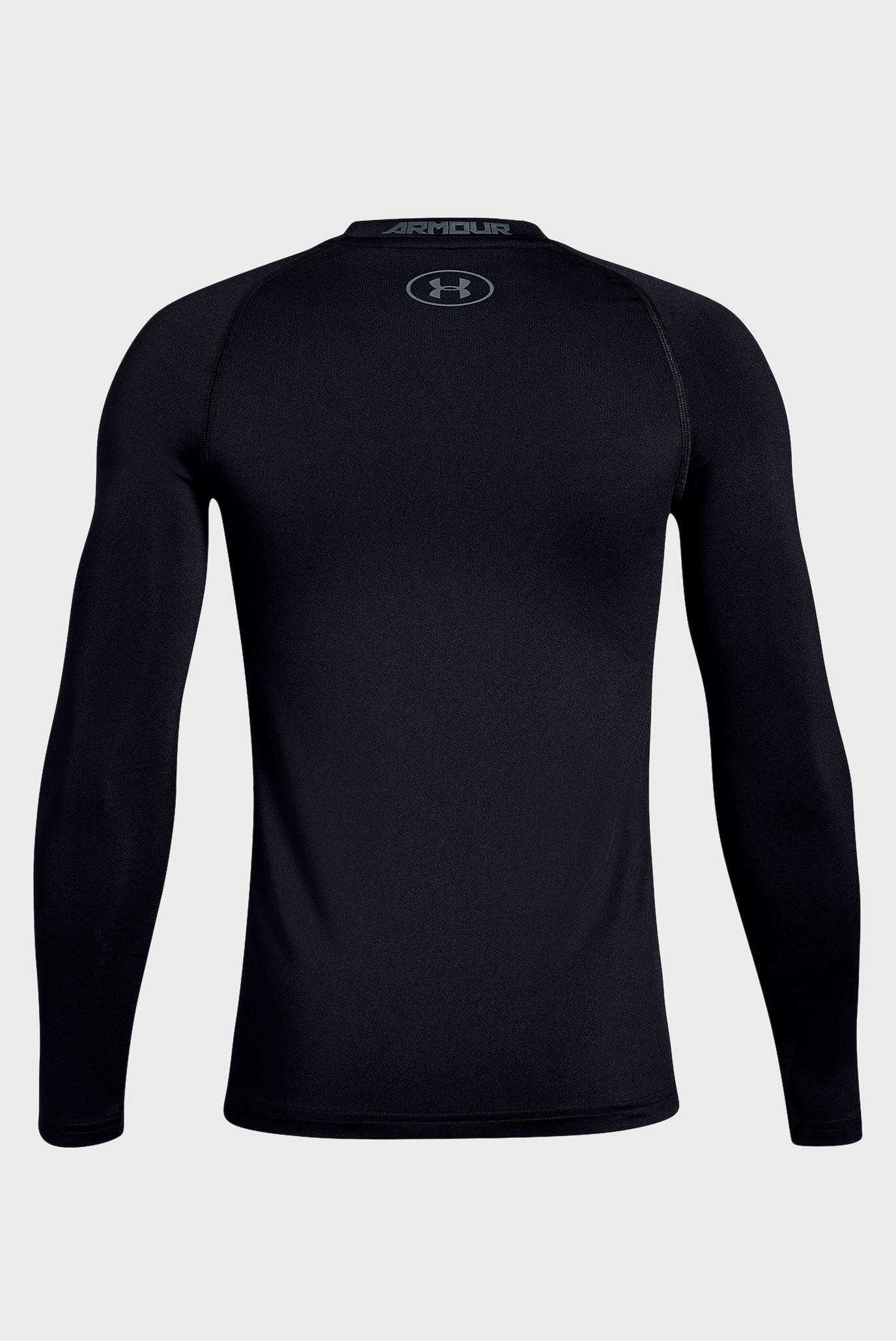 Купить Детский черный лонгслив Armour HeatGear Long Sleeve Under Armour Under Armour 1343014-002 – Киев, Украина. Цены в интернет магазине MD Fashion