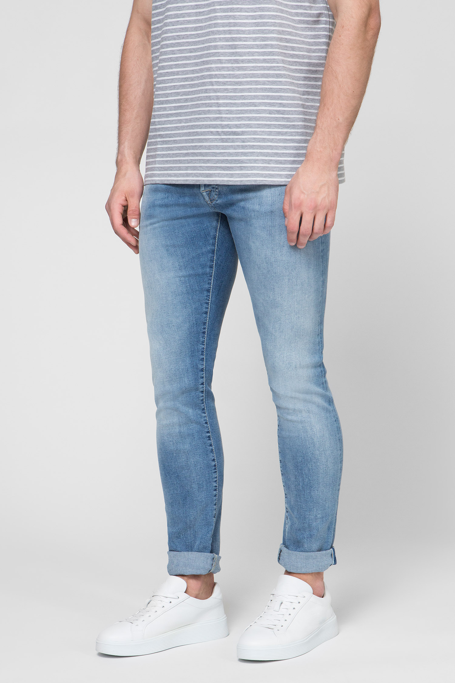 Купить Мужские голубые джинсы Jacob Cohen Jacob Cohen 08792_W3 – Киев, Украина. Цены в интернет магазине MD Fashion
