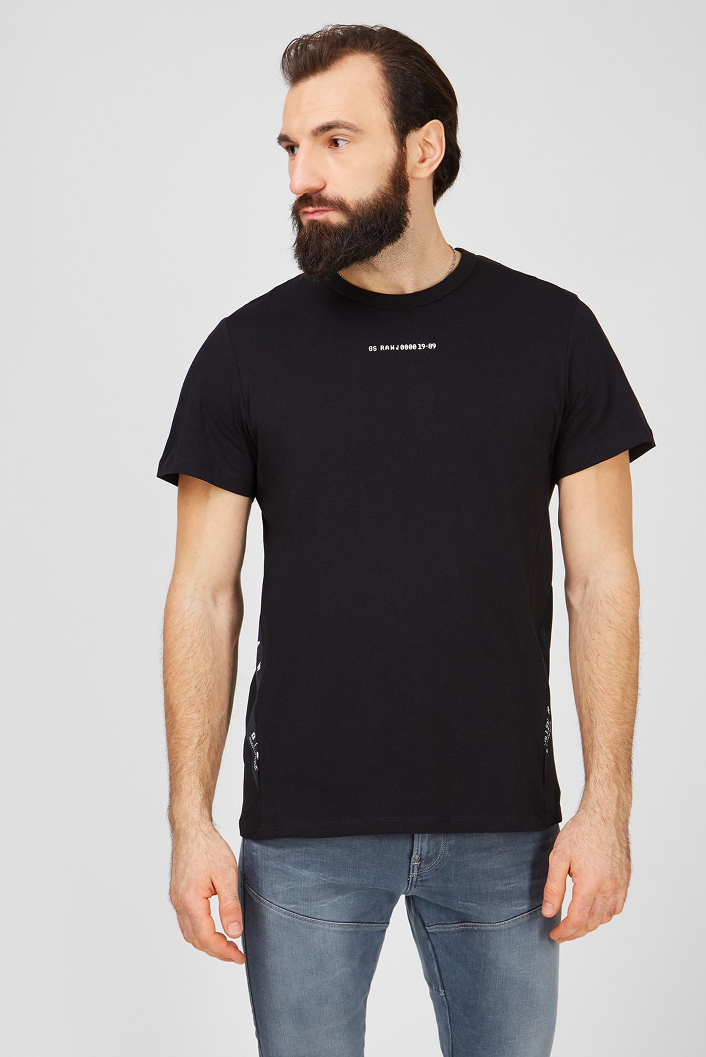 Мужская черная футболка Sport 1