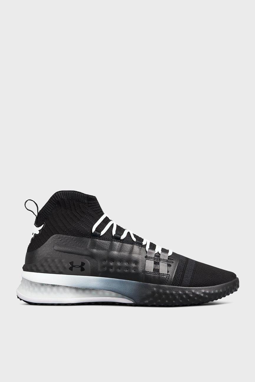 Мужские черные кроссовки UA Project Rock 1