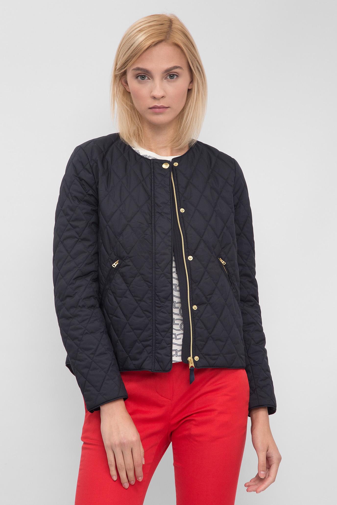 Купить Женская синяя стеганая куртка Gant Gant 470755 – Киев ... 950b970010438