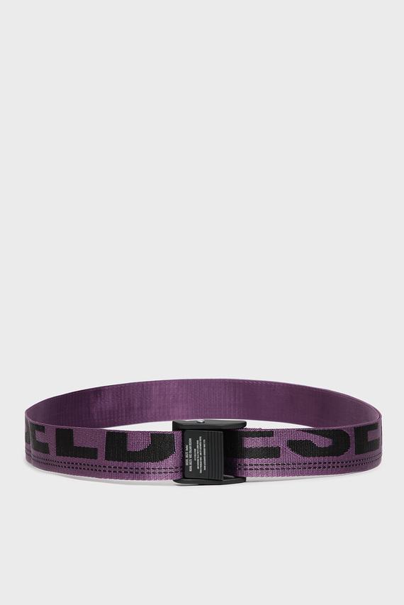 Мужской фиолетовый ремень B-MASER