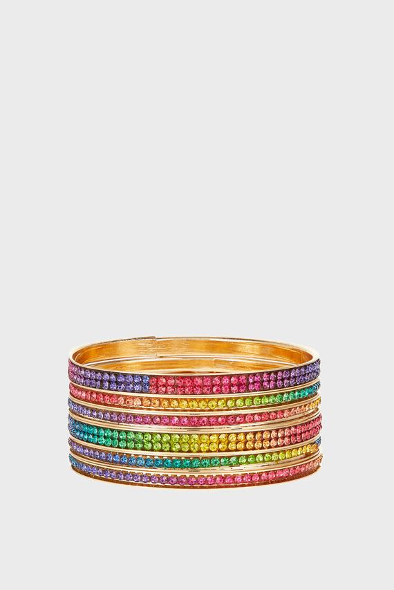 Детские браслеты (6 шт)  Dazzle Rainbow Ba