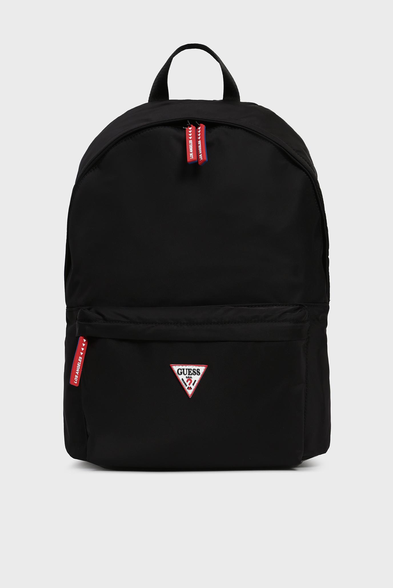 Купить Мужской черный рюкзак SMART BACKPACK Guess Guess HM6736POL93 – Киев, Украина. Цены в интернет магазине MD Fashion