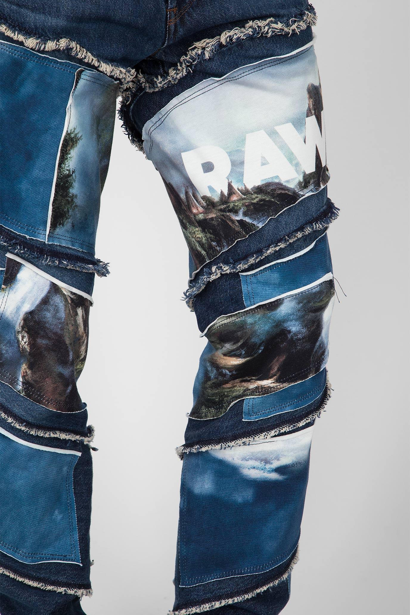 Купить Мужские синие джинсы Spiraq RFTP patches water 3D slim G-Star RAW G-Star RAW D10836,9436 – Киев, Украина. Цены в интернет магазине MD Fashion