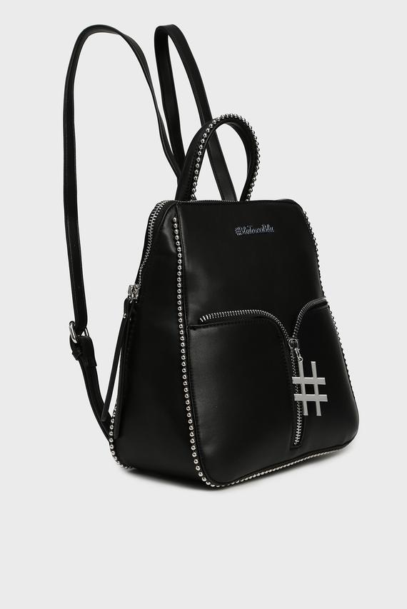 Женский черный рюкзак BUBBLES