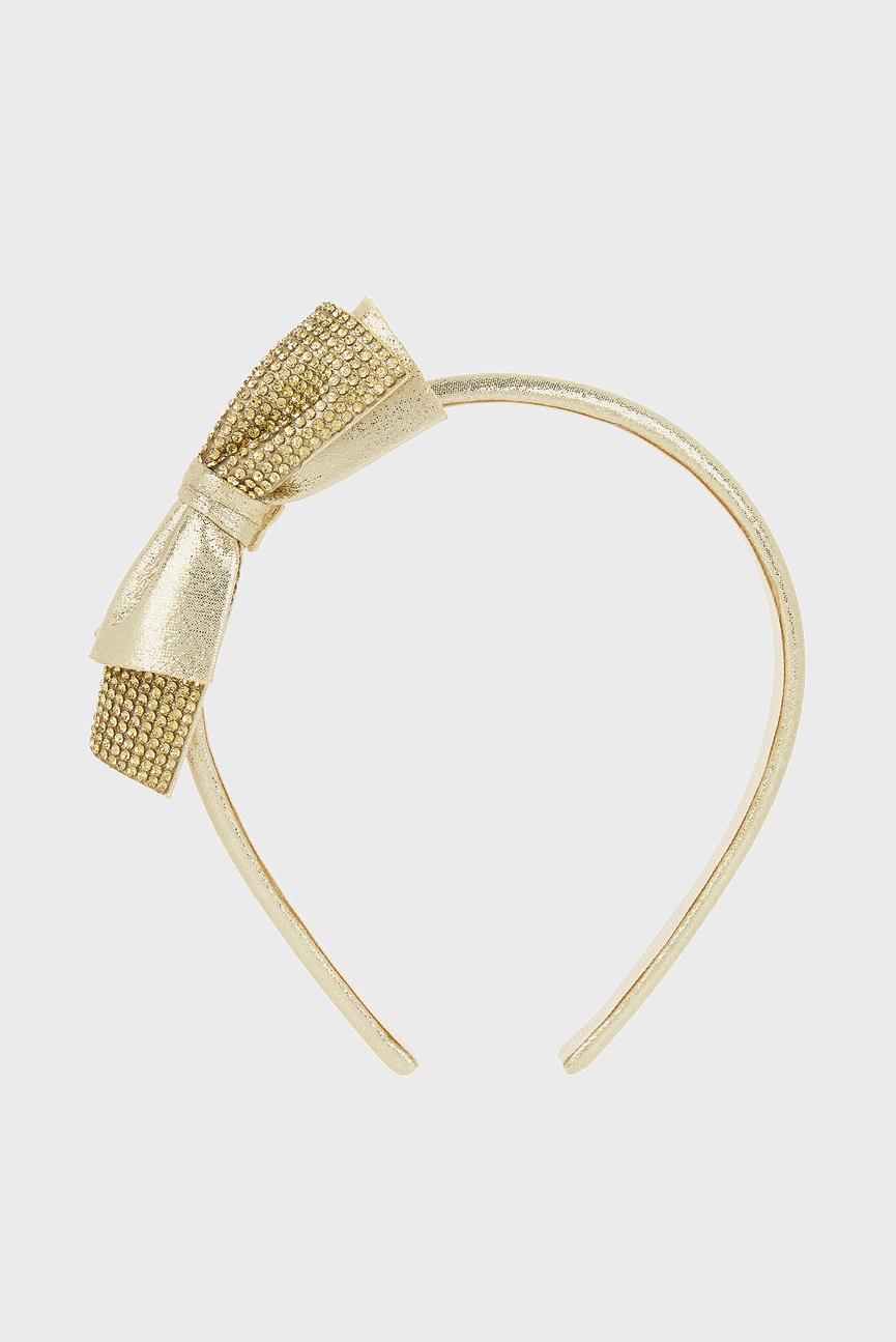 Детский золотистый обруч для волос Super Sparkle Dazzle