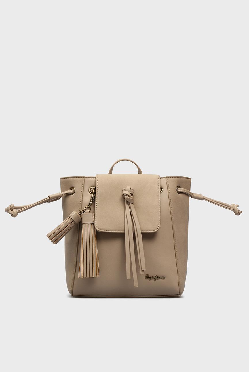 Женский бежевый рюкзак BITMAT