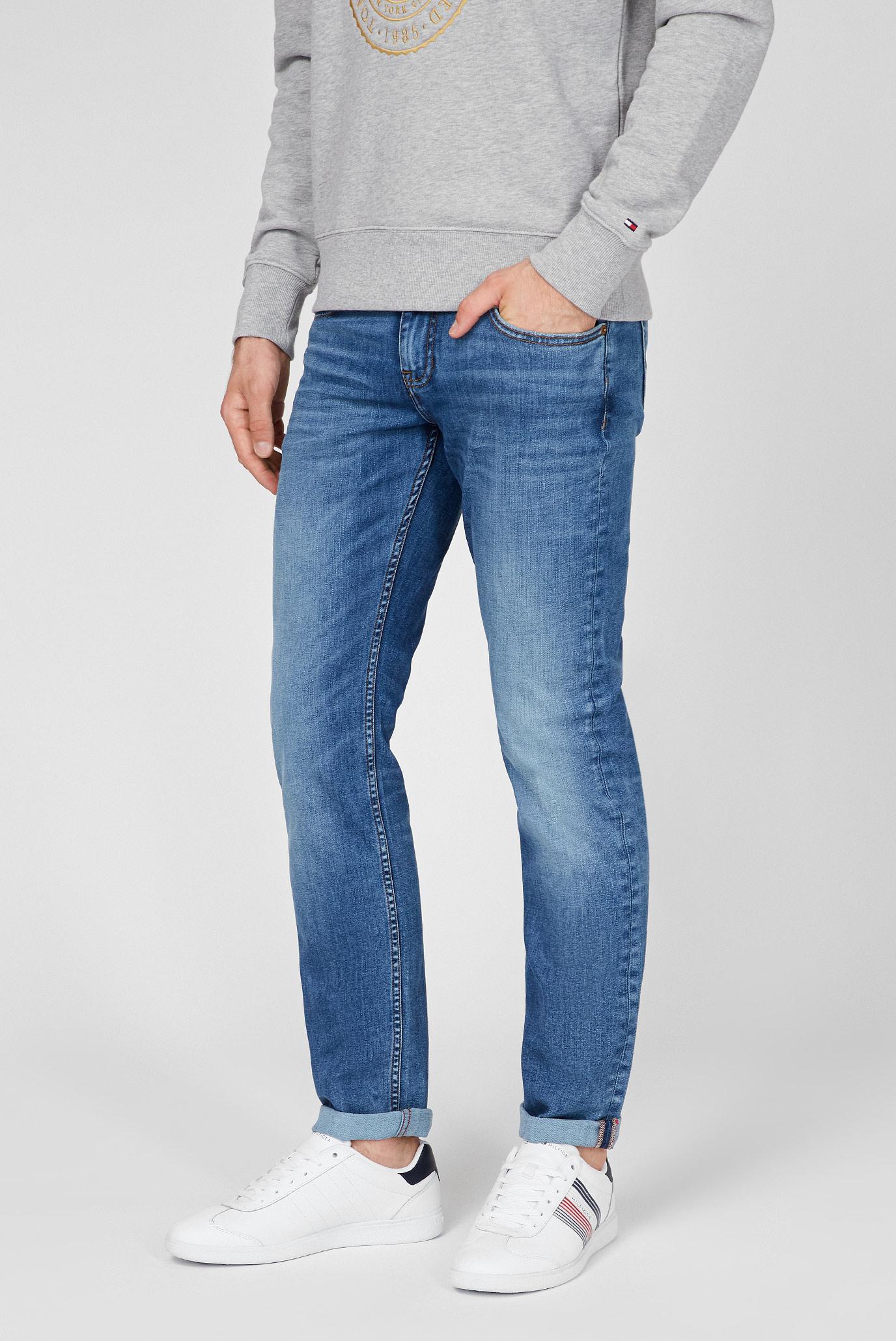 Мужские синие джинсы STRAIGHT DENTON PSTR LEAD 1