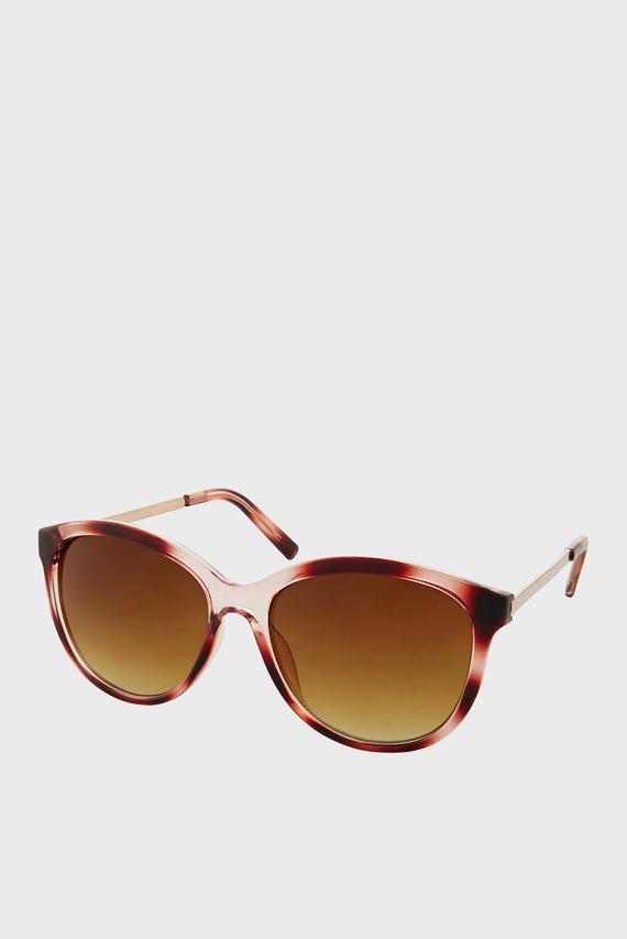 Женские коричневые очки RUBEE FLAT-TOP
