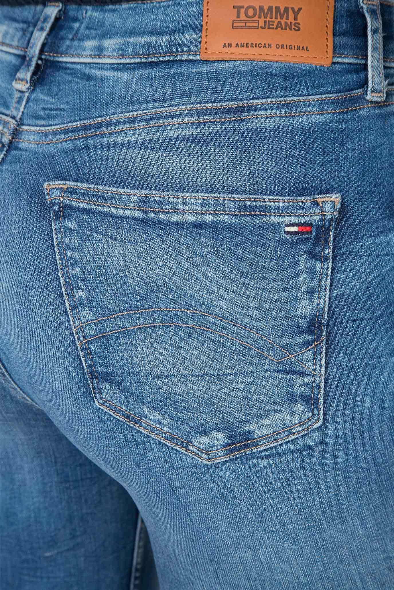 Женские голубые джинсы MID RISE SKINNY NORA 7/8 Tommy Hilfiger