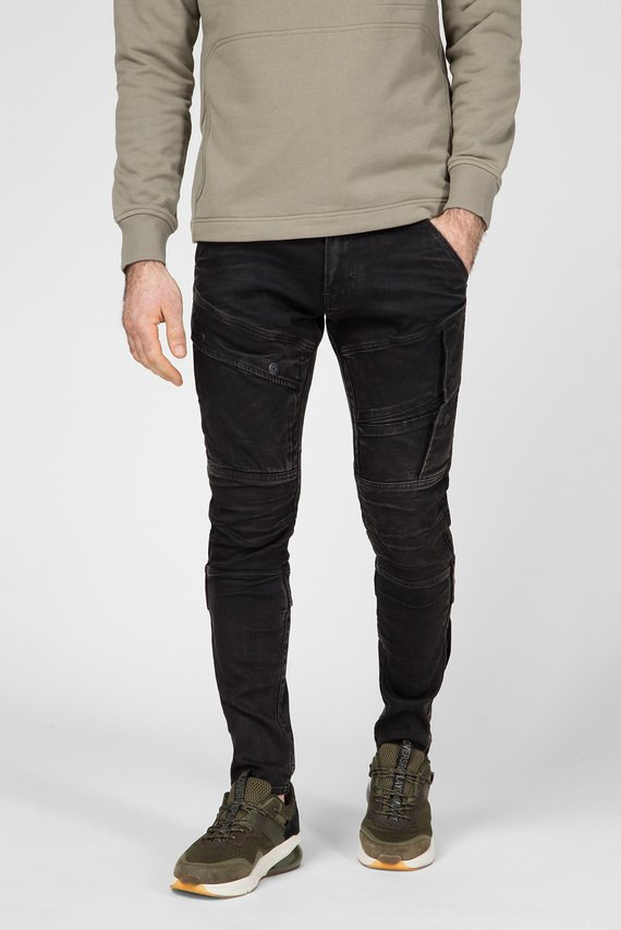 Мужские черные джинсы Airblaze 3D Skinny