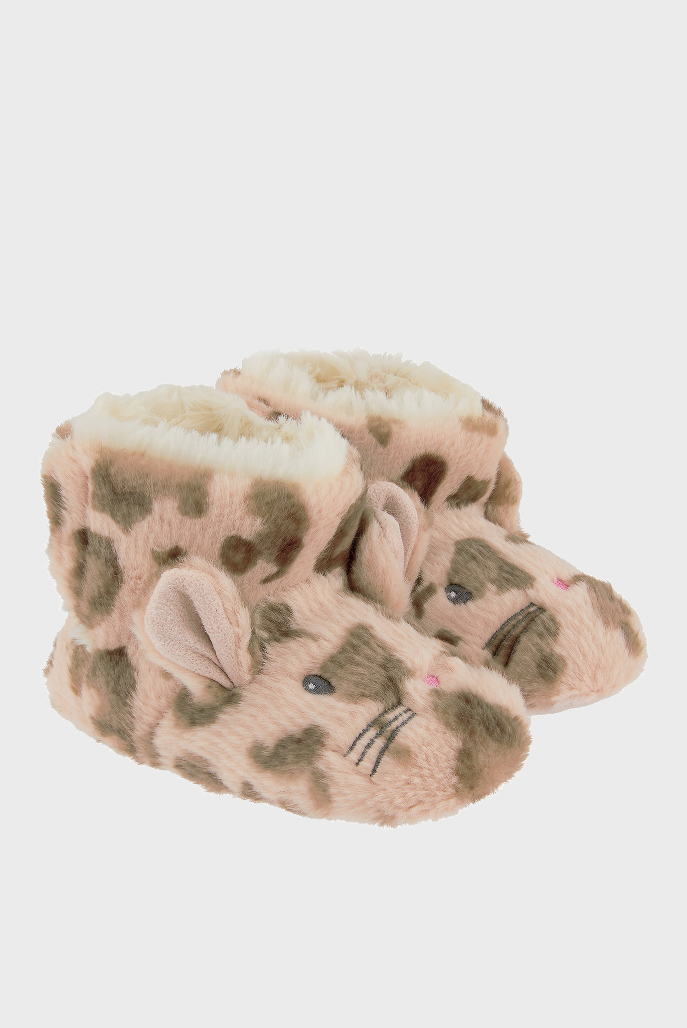 Детские леопардовые домашние тапочки BABY LEONA LEOPARD SLIPPER BOOTS Monsoon Children