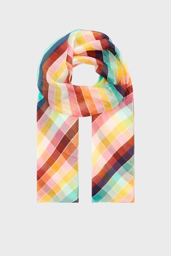 Женский шарф RETRO RAINBOW STRIPE