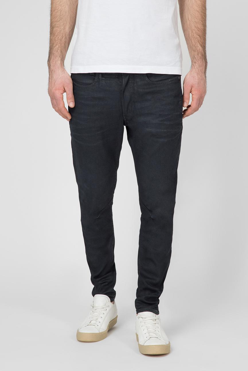 Мужские темно-синие джинсы D-STAQ