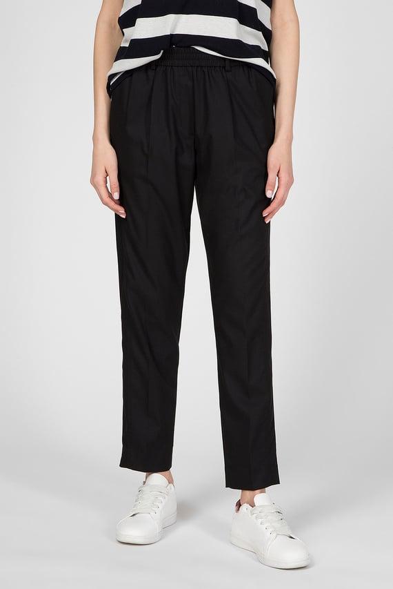 Женские черные брюки FLANNEL TAILORED