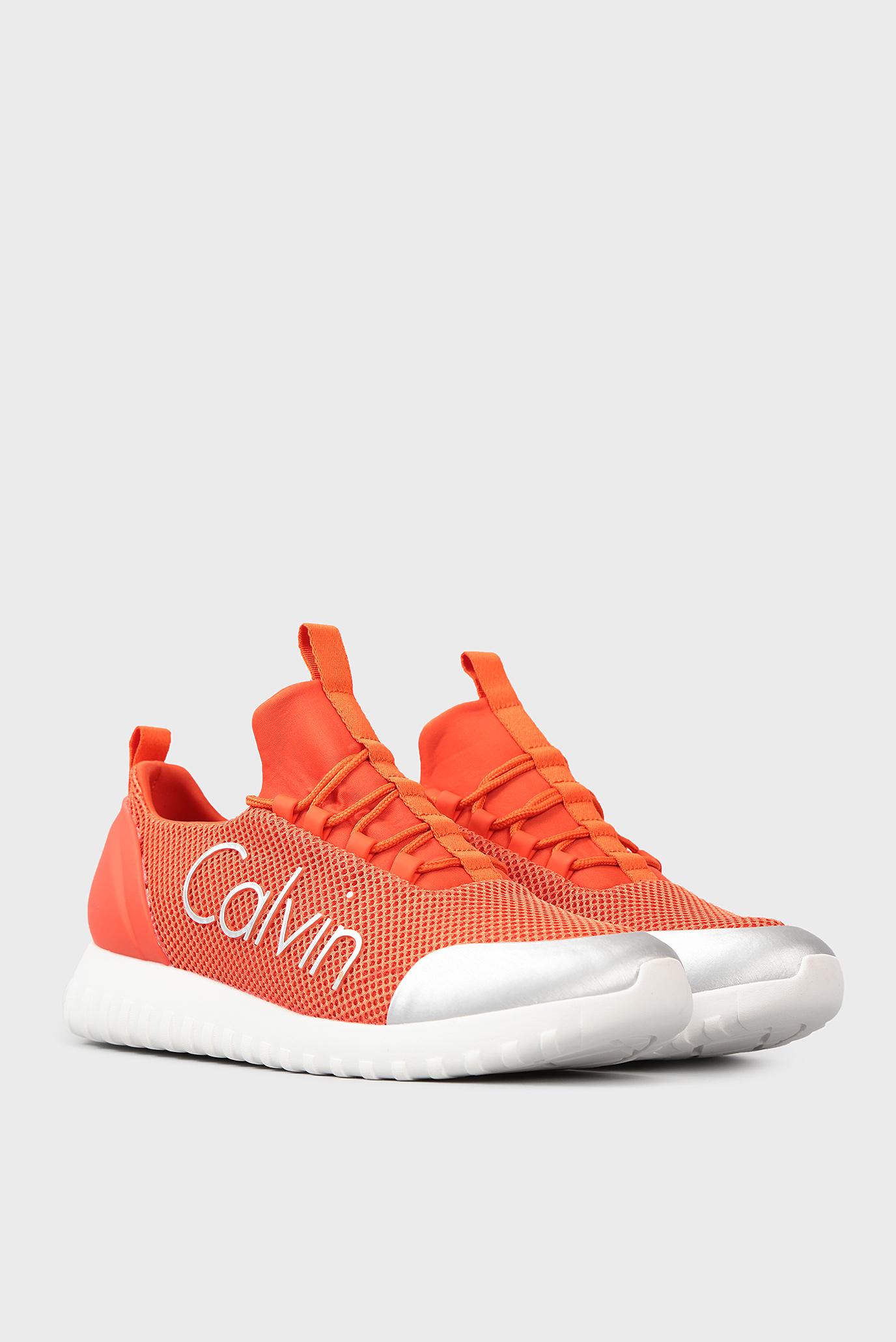 Купить Мужские оранжевые кроссовки Calvin Klein Calvin Klein S0506 – Киев,  Украина. Цены в интернет магазине MD Fashion 13c435b7ca5