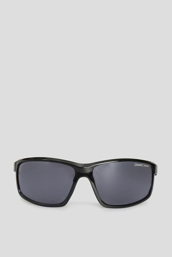 Черные солнцезащитные очки DEFEY