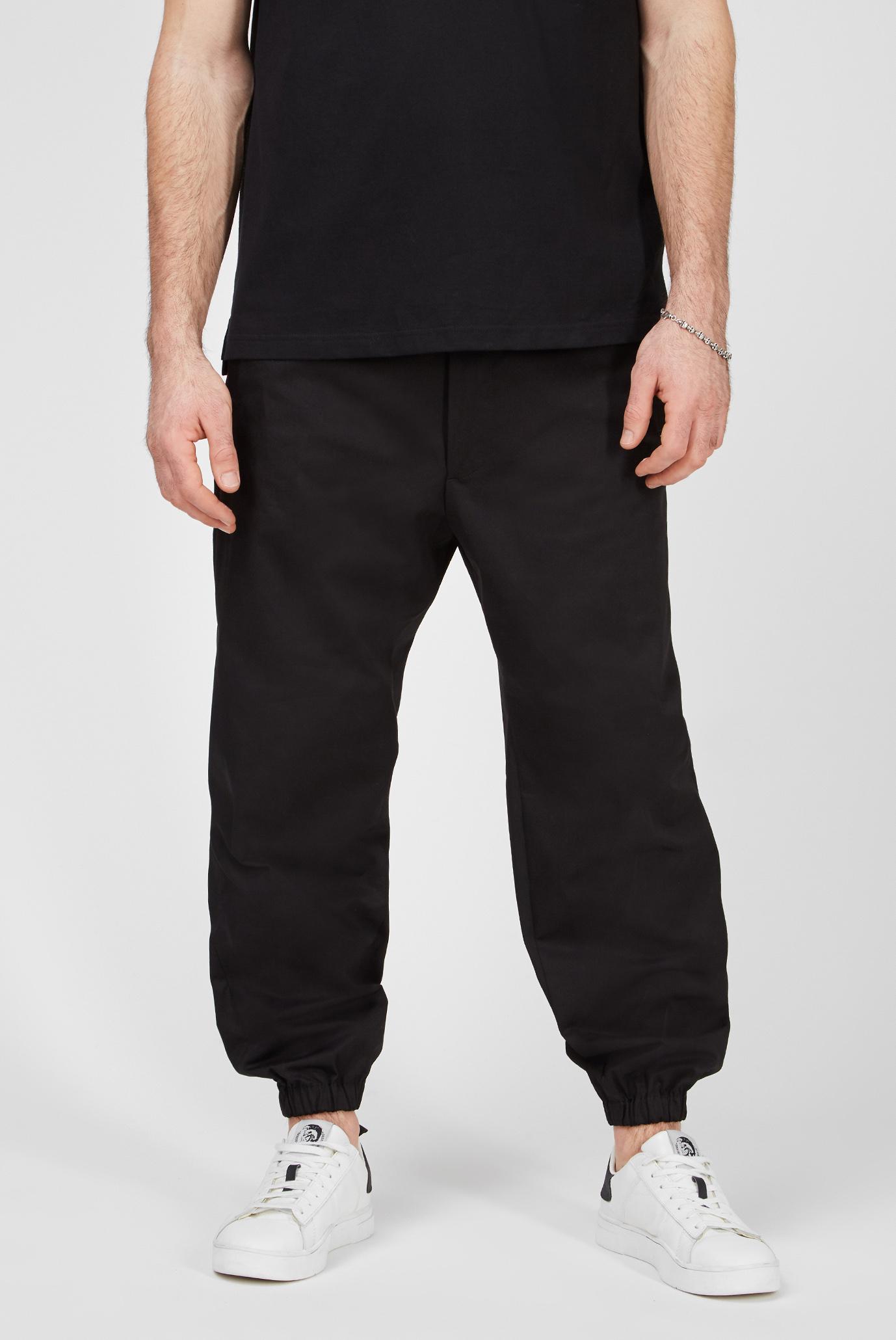 Мужские черные брюки P-LEVOS 1
