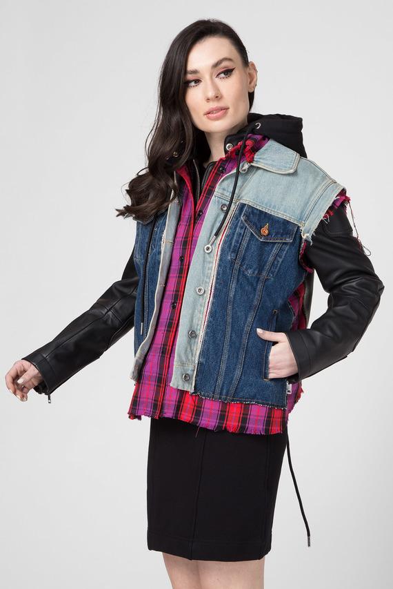 Женская кожаная куртка L-MARALI JACKET