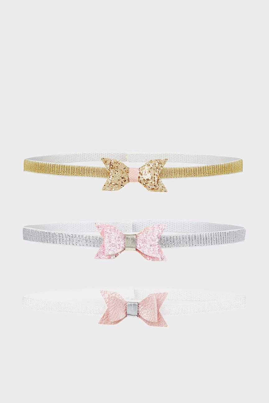 Детская повязка (3 шт.) Baby 3 X Shimmer Bow