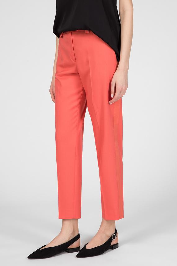 Женские оранжевые брюки FINE TWILL CIGARETTE