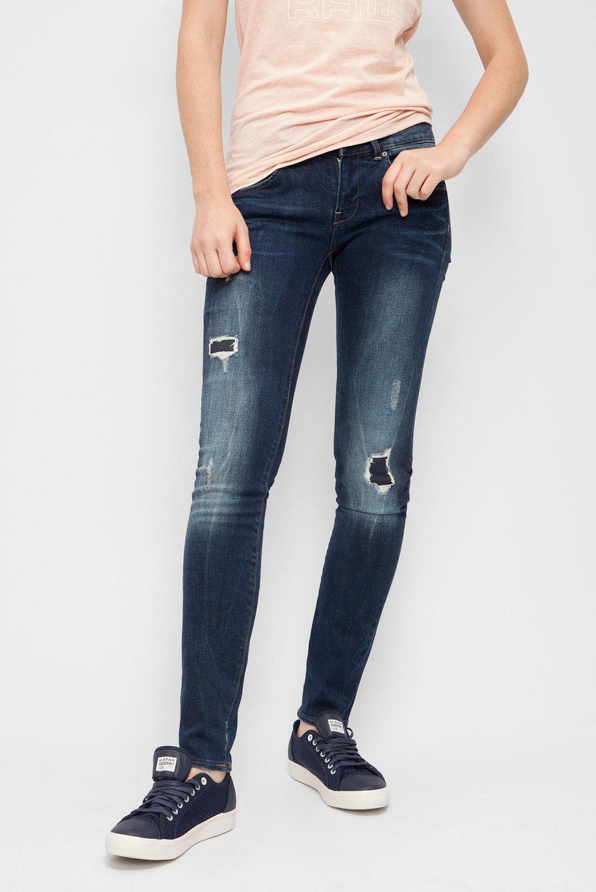 Женские синие джинсы Midge Cody Mid Skinny