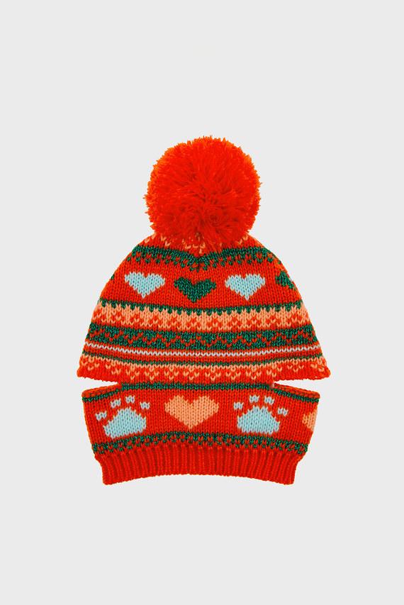 Шапочка для животных Fairisle Hat