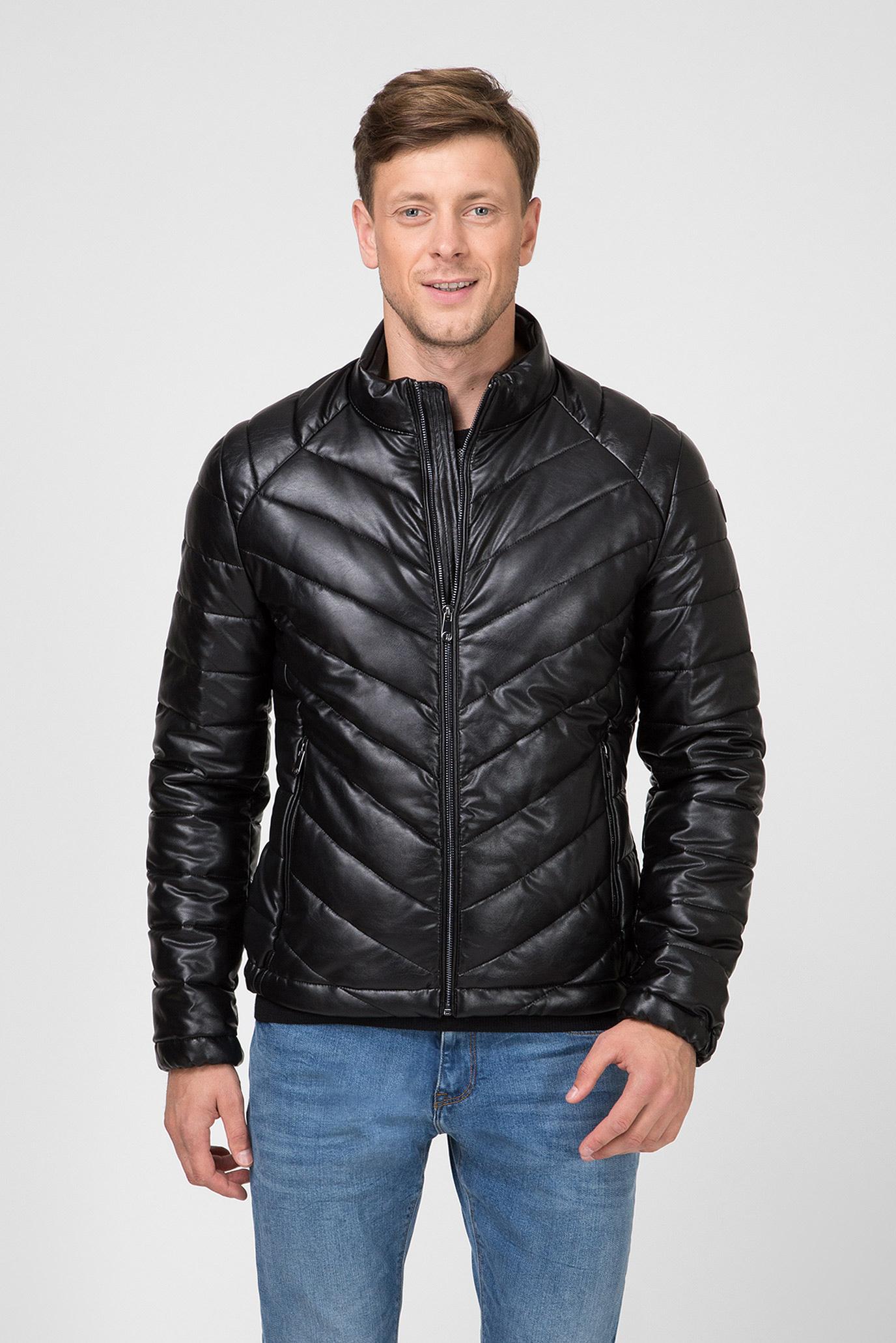 Мужская черная куртка Trussardi Jeans 52S00371-1T002806 — MD-Fashion