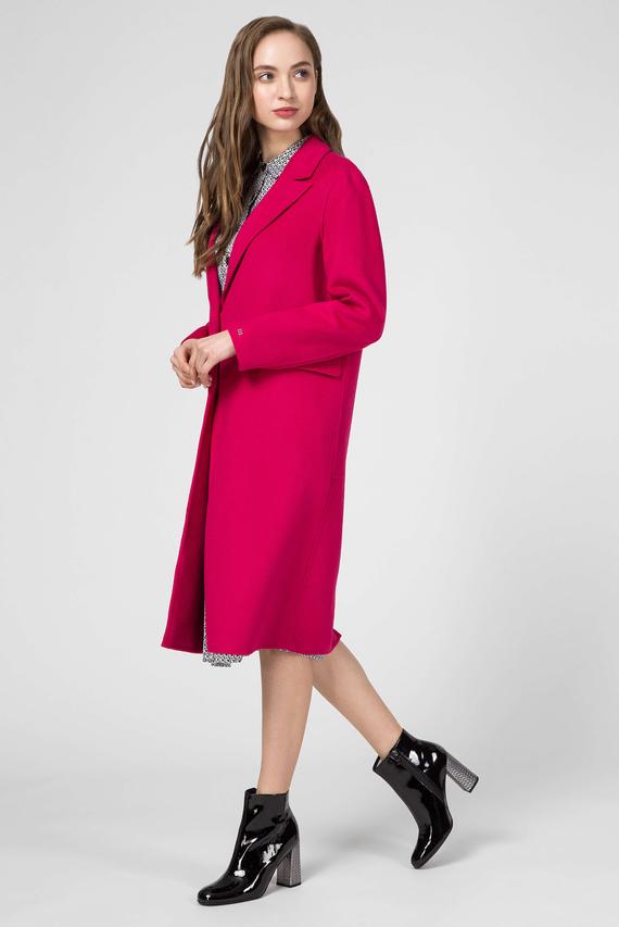 Женское розовое пальто BIANCA DF