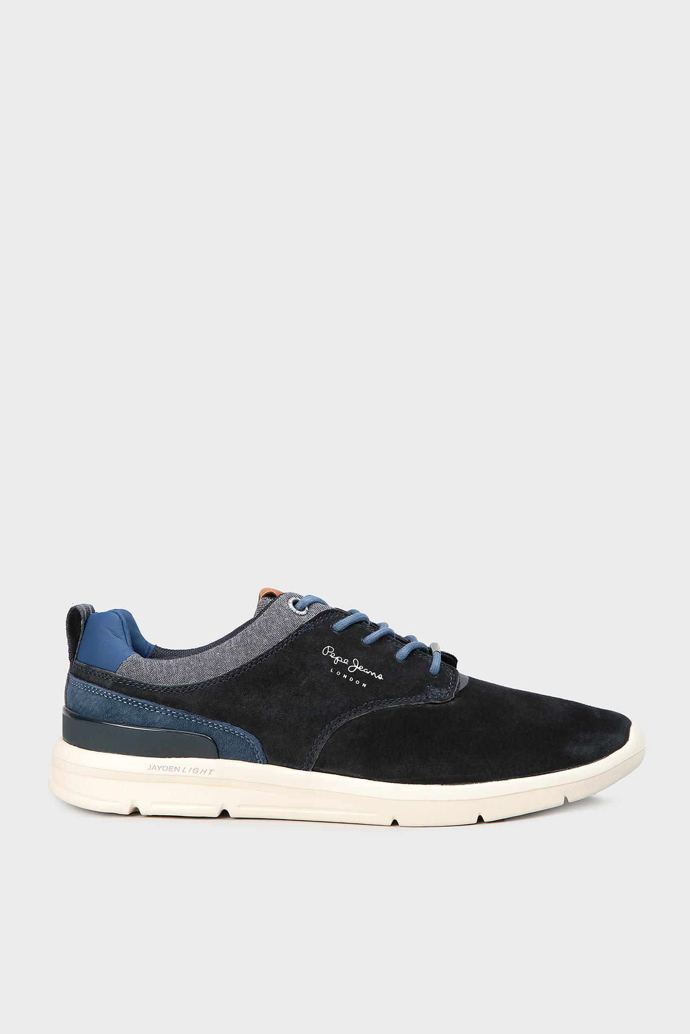 2a37e027ede Купить Мужские темно-синие замшевые кроссовки Pepe Jeans Pepe Jeans PMS30409  – Киев