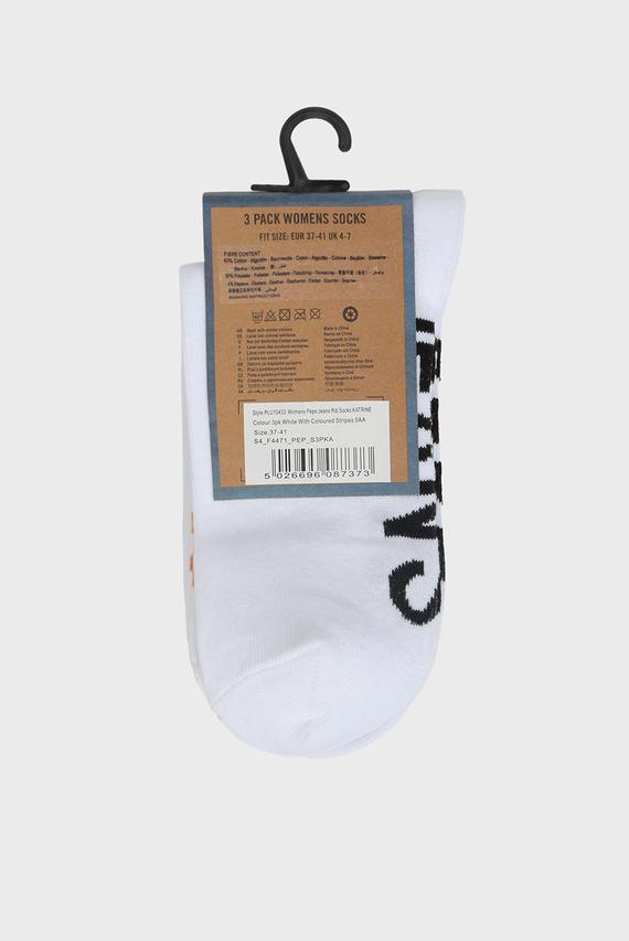 Женские белые носки KATRINE (3 пары)