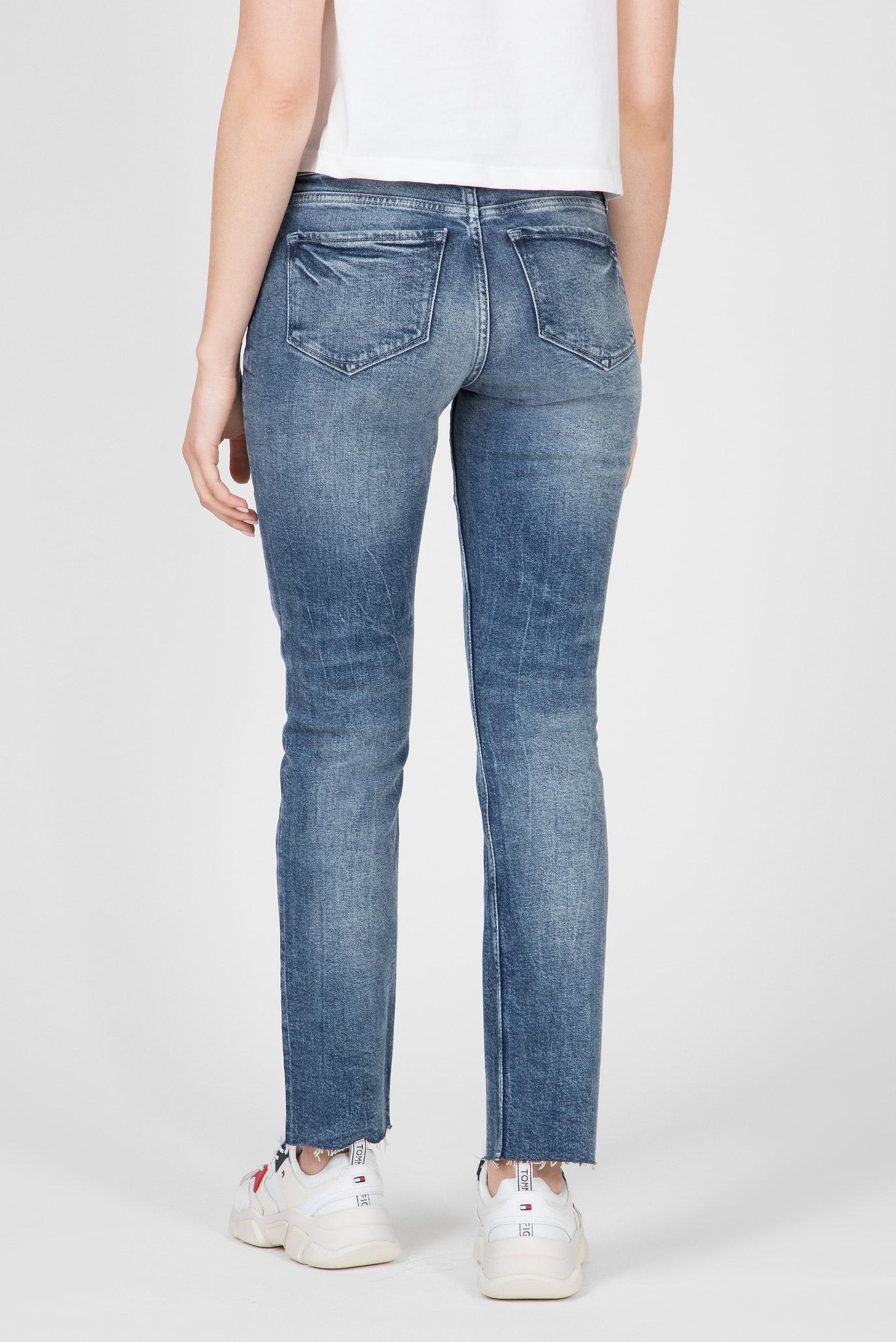 Женские синие джинсы ROME STRAIGHT RW A TAMMIE Tommy Hilfiger