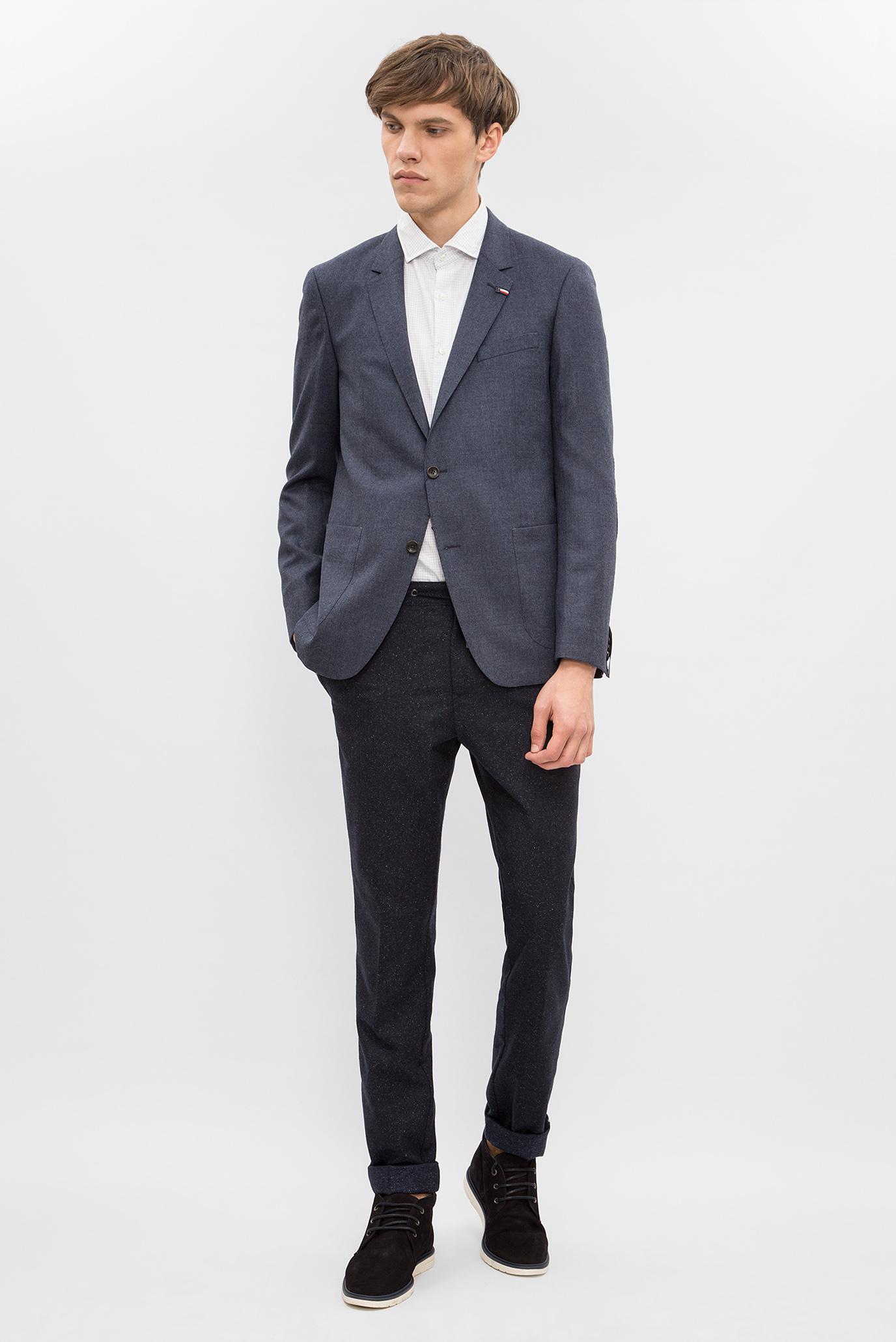 Купить Мужской синий пиджак Tommy Hilfiger Tommy Hilfiger TT0TT01685 – Киев, Украина. Цены в интернет магазине MD Fashion