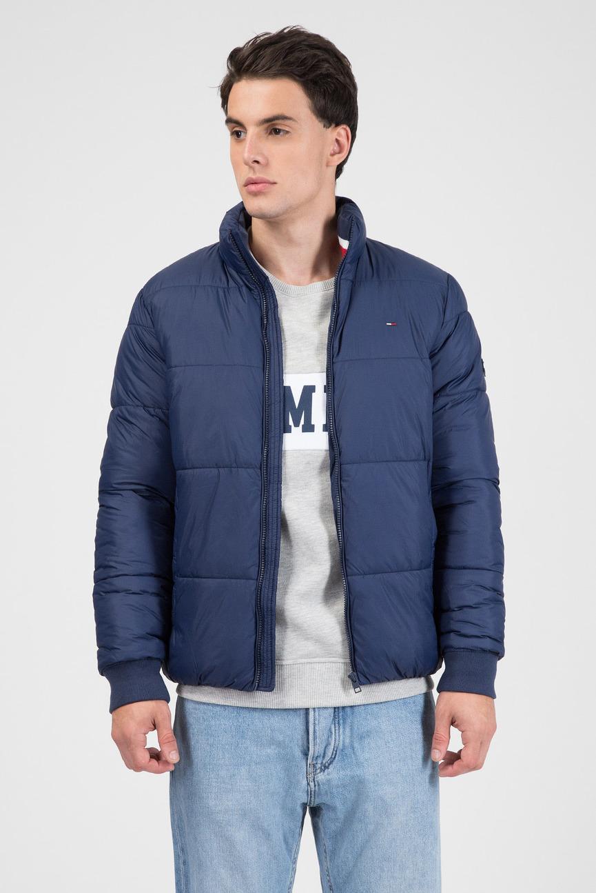 Мужская темно-синяя куртка ESSENTIAL PADDED JACKET