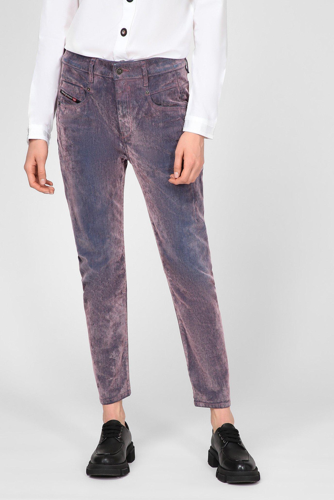 Женские сиреневые джинсы D-FAYZA-SP4 1