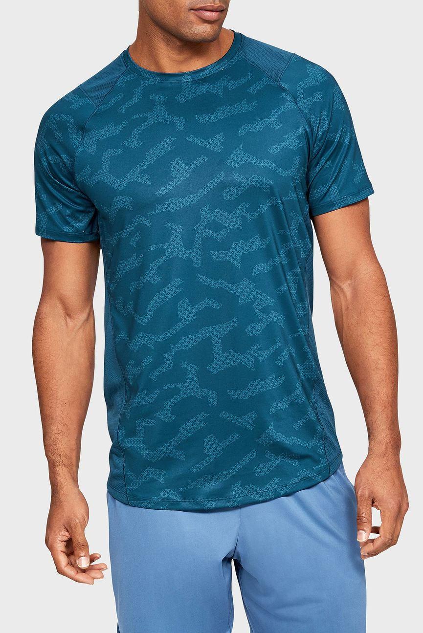 Мужская синяя футболка K1 SS Printed
