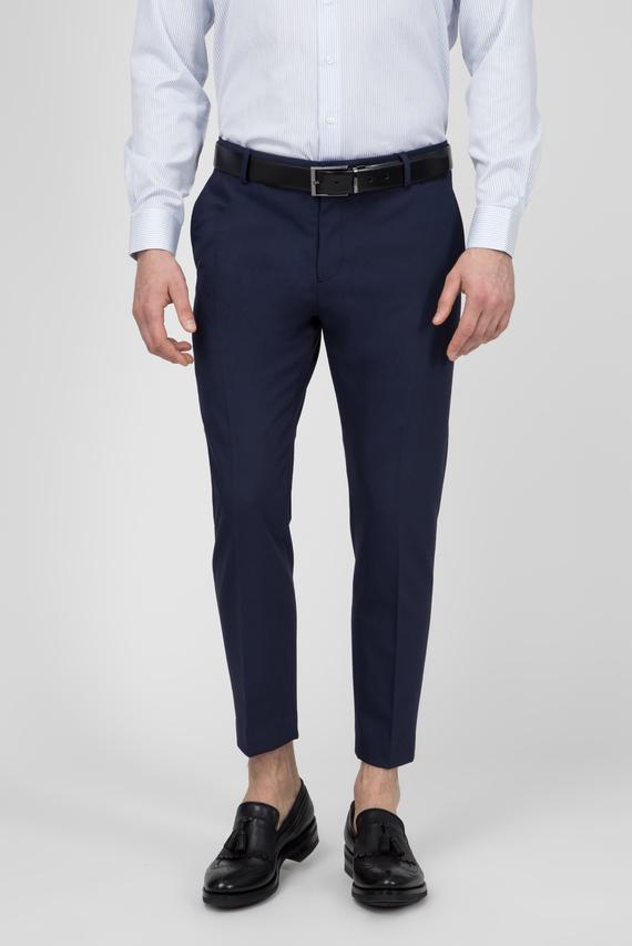Мужские синие брюки TECHNO GABARDINE TRAVEL